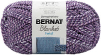 Bernat Blanket Twist Yarn Grape Kiss