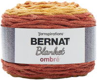 Bernat Blanket Ombre Yarn Orange Crush Ombre