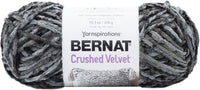 Bernat Crushed Velvet Yarn Deep Gray