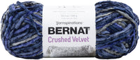 Bernat Crushed Velvet Yarn Navy