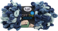 Lion Brand® Off The Hook Yarn Blue Sapphire