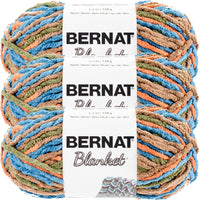 Bernat Blanket Yarn-Cozy Cabin, Multipack Of 3