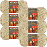 Bernat Softee Chunky Yarn-Linen, Multipack Of 6