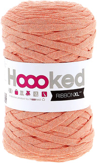 Hoooked Ribbon XL Yarn Iced Apricot