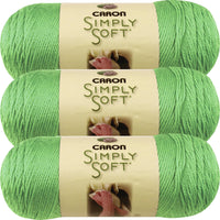 Caron Simply Soft Brites Yarn-Limelight, Multipack Of 3