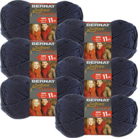 Bernat Softee Chunky Yarn-Faded Denim, Multipack Of 6