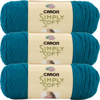 Caron Simply Soft Collection Yarn-Pagoda, Multipack Of 3