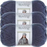Bernat Roving Yarn-Cobalt, Multipack Of 3
