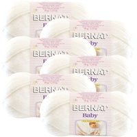 Bernat Baby Yarn-Baby White, Multipack Of 6