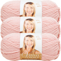 Lion Brand Vanna's Choice Yarn-Pink, Multipack Of 3