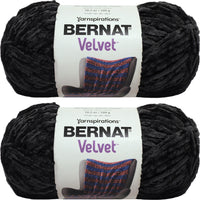 Bernat Velvet Yarn Blackbird Multipack Of 2