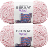 Bernat Velvet Yarn Quiet Pink Multipack Of 2
