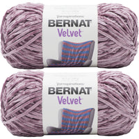 Bernat Velvet Yarn Shadow Purple Multipack Of 2