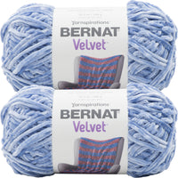 Bernat Velvet Yarn Smokey Blue Multipack Of 2