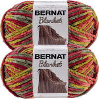 Bernat Blanket Big Ball Yarn Harvest Multipack Of 2
