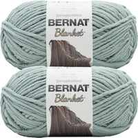 Bernat Blanket Big Ball Yarn Misty Green Multipack Of 2