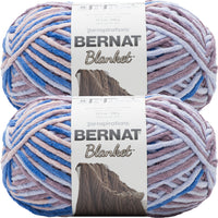 Bernat Blanket Big Ball Yarn Dappled Showers Multipack Of 2