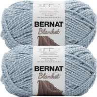 Bernat Blanket Big Ball Yarn Fog Twist Multipack Of 2