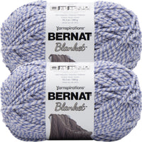 Bernat Blanket Big Ball Yarn Cornflower Twist Multipack Of 2