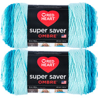 Red Heart Super Saver Ombre Yarn Scuba Multipack Of 2