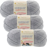 Bernat Softee Baby Yarn Flannel Multipack Of 3