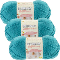 Bernat Softee Baby Yarn Aqua Multipack Of 3