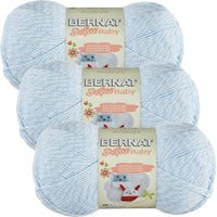 Bernat Softee Baby Yarn Baby Denim Marl 3pk