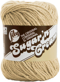 Lily® Sugar'n Cream® Cotton Yarn Jute Multipack Of 6