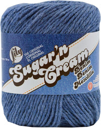 Lily® Sugar'n Cream® Cotton Yarn Blue Jeans Multipack Of 6