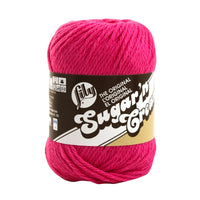 Lily® Sugar'n Cream® Cotton Yarn Hot Pink Multipack Of 6