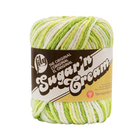 Lily® Sugar'n Cream® Ombres Yarn Key Lime Pie Multipack Of 6