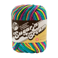 Lily® Sugar'n Cream® Ombres Yarn Psychedelic Multipack Of 6