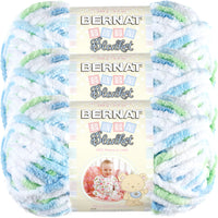 Bernat Baby Blanket Yarn Funny Prints Multipack Of 3