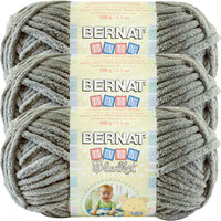 Bernat Baby Blanket Yarn Sand Baby Multipack Of 3