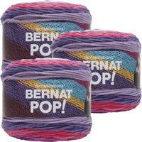 Bernat Pop! Yarn Violet Vision Multipack Of 3