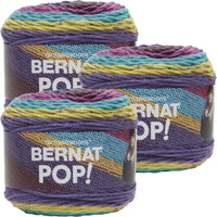Bernat Pop! Yarn Paisley Pop Multipack Of 3