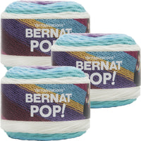 Bernat Pop! Yarn Snow Queen Multipack Of 3