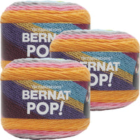 Bernat Pop! Yarn Pop Art Multipack Of 3