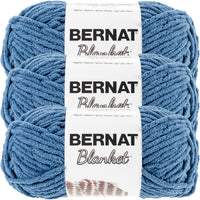 Bernat Blanket Yarn Dark Teal Multipack Of 3