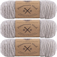 Lion Brand Fisherman's Wool Yarn Oatmeal Multipack Of 3
