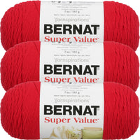 Bernat® Super Value™ Yarn Berry Multipack Of 3