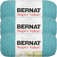 Bernat® Super Value™ Yarn Aqua Multipack Of 3