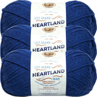 Lion Brand Heartland Yarn Lake Clark Multipack Of 3
