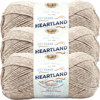 Lion Brand Heartland Yarn Grand Canyon Multipack Of 3