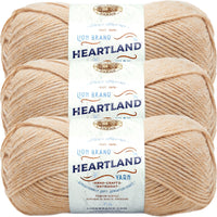 Lion Brand Heartland Yarn Great Sand Dunes Multipack Of 3