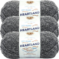 Lion Brand Heartland Yarn Great Smokey Mountains Multipack Of 3