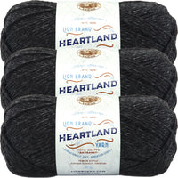 Lion Brand Heartland Yarn Black Canyon Multipack Of 3