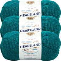 Lion Brand Heartland Yarn Cuyahoga Valley Multipack Of 3