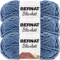 Bernat Blanket Yarn Country Blue Multipack Of 3