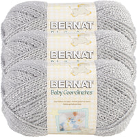 Bernat® Baby Coordinates™ Yarn Soft Grey Multipack Of 3